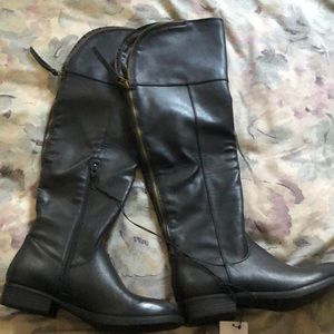 Mossimo over the knee boots